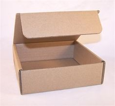 10 x Small tuck in lid corrugated kraft gift display boxes soaps candles