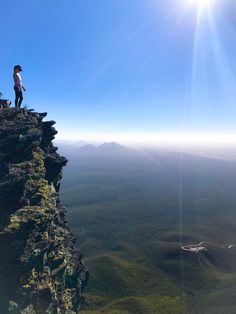 Sitting on top of the world, with my head in the clouds! Bluff Knoll is the highest peak of south west WA - I can now add 'mountain climber' to my resume! Mountain Climbers, Mountain S, Sit On Top, Sea Level, Top Of The World, Stand Tall, Sky High, Coast, Wanderlust