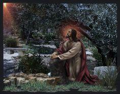 Agony In The Garden, Medium Art, Mixed Media Art, Jesus Christ, Easter, Facebook, Couple Photos, Mixed Media, Couple Photography