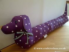 Sausage Dog  Draught Draft Excluder  Vintage by CrabtreeLaneShop, $50.00