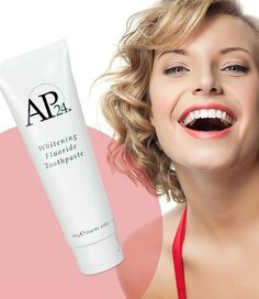 AP 24 Anti-Plaque Fluoride Toothpaste uses a safe, gentle form of fluoride to remove plaque and protect against tooth decay. Nu Skin, Ap 24 Whitening Toothpaste, Diy Beauty Secrets, Beauty Tips, Daily Beauty, Beauty Essentials, Beauty Products That Work, Skin Care Tips, Healthy Skin