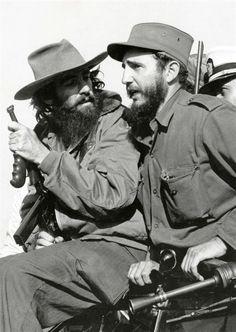 Cuba. Cienfuegos and Fidel Castro entering Havana. 1959 // Alberto Korda