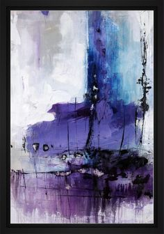 Donde 22L X 28H Floater Framed Art Giclee Wrapped Canvas