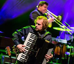 DPA Microphones Allow Accordionist Jure Tori To Move Freely On Stage