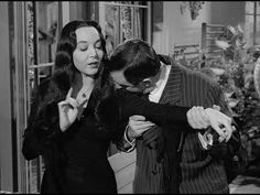The Addams Family  1964 - 1966  Gomez - John Astin  Morticia - Carolyn Jones