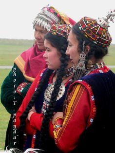 vêtements traditionnels de femmes, Turkmenistan