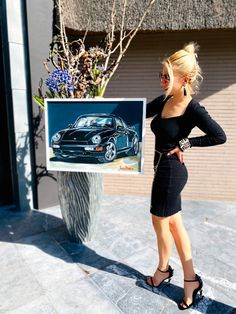 Porsche Acrylic Art, My Passion, My Inspiration, My Style! Car Painting, Acrylic Art, My Passion, Luxury Cars, Porsche, Leather Skirt, Paintings, My Style, Skirts