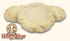 Hungry Bear Cookies are my favorite cookies - this is a recipe that is very, very close to the wonderful sugar cookies they have at Hungry Bear.