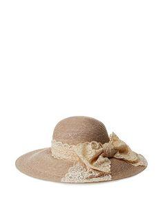 Giovannio Women's Garden Party Hat, Oyster at MYHABIT