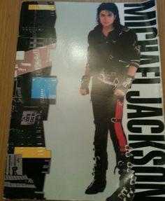 Michael Jackson World Tour 1988 Programme. Wembley Stadium. - http://www.michael-jackson-memorabilia.co.uk/?p=7883