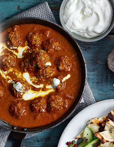 A fragrant lamb kofta curry recipe that won't need hours on the stove. Make it as mild or spicy as you like by adjusting the amount of chillies in the recipe.