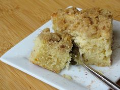 Eggnog Coffee cake!  Allan loves everything eggnog so I'm going to have to make it this christmas