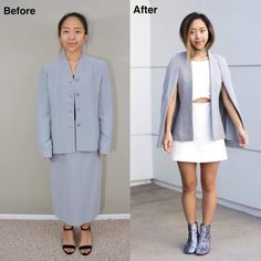 """4,776 Beğenme, 105 Yorum - Instagram'da April (@coolirpa): """"Thrifted Transformations Ep. 42 - I bought this suit set from #Savers for only $8 and transformed…"""""""