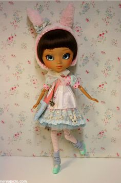 Kara Bunny Custom Pullip doll by Keera, via Flickr