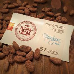 Chocolate de Leite com Nibs de Nicarágua Waslala 57%