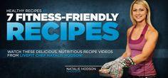 #livefittrainer Healthy Recipes: Natalie Hodson's 7 Delicious LiveFit Recipes