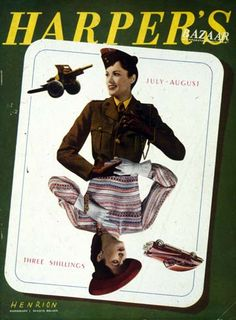 Harpers Bazaar UK July 1943 http://www.brighton.ac.uk/designarchives/fhk/collectionfeature/fhkharpersthumbs.htm