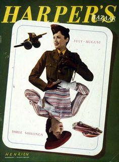 Harper's Bazaar UK Julho 1943