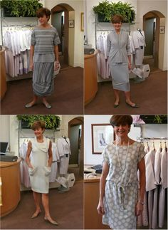 Anne Furbank modelling casual and formal dresses ideal for cruising