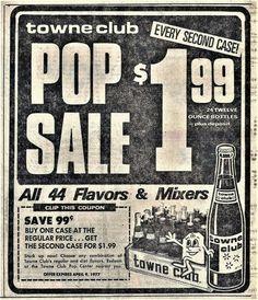 Towne Club pop was a special treat
