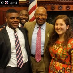 Mayor Nutter has a pretty great #myPennPath - is @barry.j going to follow in his footsteps? ・・・ Finally got my picture with the mayor. @councilmankj photo bombing. #myPennPath