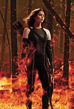 """CME: In the movie """"The Hunger Games"""" Katniss Everdeen is forced to adapt to the fact that she is going to fight to the death in an arena for entertainment. She has to grow and change with the circumstance in order to survive. Her mentor and Peeta help her to prepare for what is to come."""