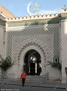 :::: ✿⊱╮☼ ☾ PINTEREST.COM christiancross ☀❤•♥•* :::: أمة محمد بخير / بخراء Great Mosque of Paris