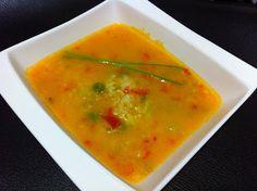 María's Recipe Book: Sopa ligera de verduras con arroz [Thermomix]