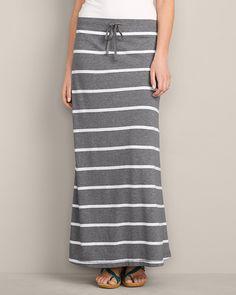 Women's Girl On The Go® Maxi Skirt - Stripe | Eddie Bauer