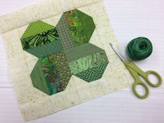 Stitch up a cozy new quilt for your own bed or sew a thoughtful handmade gift for a lucky loved one with this pretty four-leaf clover quilt block!