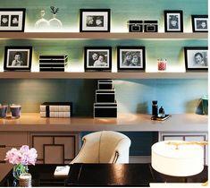 modern feminine office of Taylor Howes, via 1st dibs