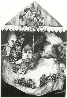 The Halting Place of Magicians by Judy Woodborne Intaglio Printmaking, Printmaking Ideas, Ink Pen Drawings, Print Print, Fantasy Images, Cape Town, South Africa, Paper Art, Tarot