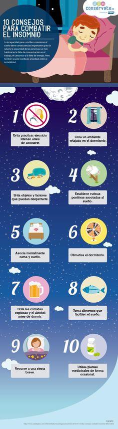 10 consejos para combatir el insomnio