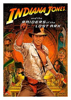 Indiana Jones Movie Poster, available at 45x32cm.This poster is printed on matt coated 350 gram paper.