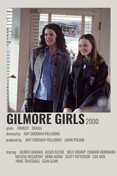 Gilmore Girls Movie, Gilmore Girls Poster, Liza Weil, Scott Patterson, Glimore Girls, Girl Film, Girls Album, Girl Posters, Alternative Movie Posters