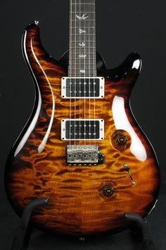 Paul Reed Smith Custom 24 Black gold.