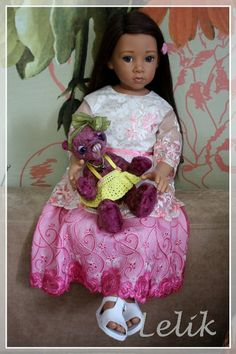 The most the most beautiful! My Saroyan (Saroyan) by Elisabeth Lindner / Other collectible dolls / Beybiki. Dolls photo. Clothes for dolls