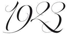 parfait script pro numerals