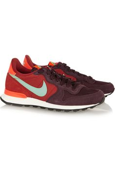 Nike|Internationalist suede, leather and mesh sneakers|NET-A-PORTER.COM, $105