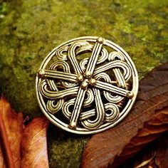 #Viking Disc #Brooch Replica - Available on ETSY by Pera Peris - House of History