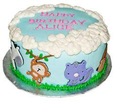 Kids Animal Cake
