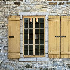 Another idea for lath shutters