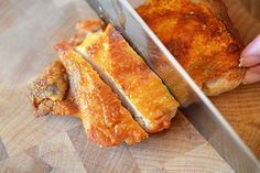 This was some of the best chicken I've ever made. OMG. Cracklin' Chicken by Michelle Tam http://nomnompaleo.com