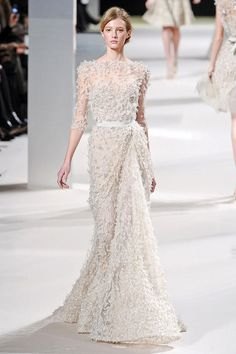 4eca73ef2c4 Luscious Glamour  Elie Saab Spring Summer 2011 Couture Collection. Couture  DressesEllie ...