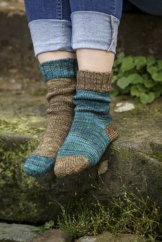 Soonly socks by @coopknits via @fyberspates