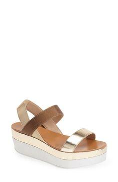 I Love this Model of Sandals <3 Pelle+Moda+'Utica'+Platform+Sandal+(Women)+available+at+#Nordstrom