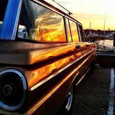 Ford falcon sunset