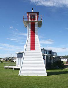 Northport Range Rear Lighthouse, Prince Edward Island Canada