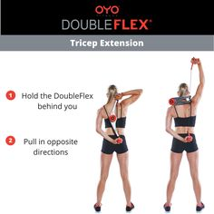 f827e45ccf9c OYO Life · Tone your triceps with this DoubleFlex exercise!
