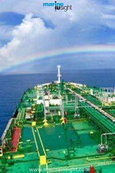 #lifeatsea #marineinsight #sea #ship #seafarer #maritime #seaman #sailor #sailing #rainbow  Photograph by Unserious Man